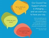 Changes to the Council Tax Support scheme