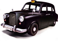 London Style Black Cab (Taxi)