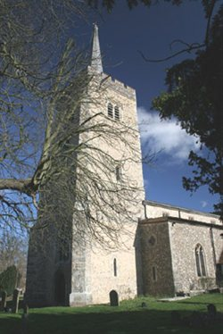 Image of Aldenham church