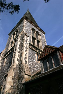 Image of St Nicholas' Church Elstree