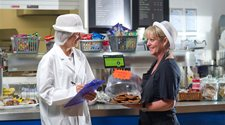 photo of food safety inspection