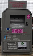 Electrical and battery recycling bank
