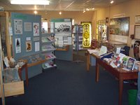 A photograph of the interior of Potters Bar museum