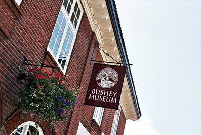 Image of the outside of Bushey Museum