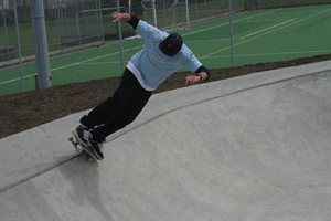 Bowl at Furzefield skatepark