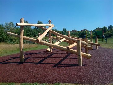 Composers Park new climbing unit