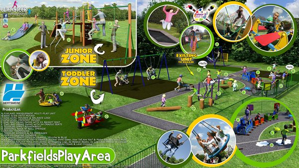 Parkfields New Play Area