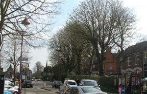 Watling Street in the Radlett North Conservation Area
