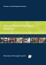 Annual Monitoring Report front cover