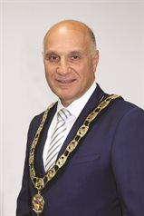 Councillor Goldstein Mayor 2017-18