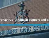 Information about financial support available for businesses affected by the coronavirus pandemic