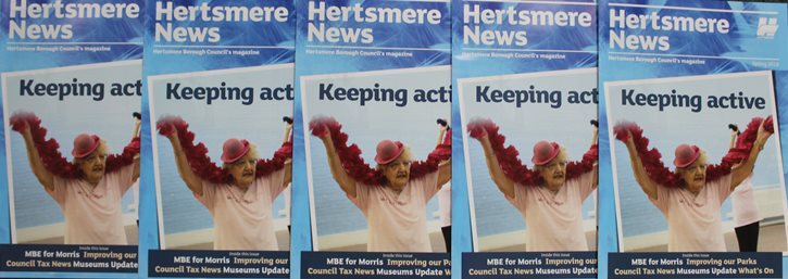 Hertsmere News is out now!
