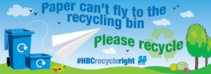 #HBCRecycleRight