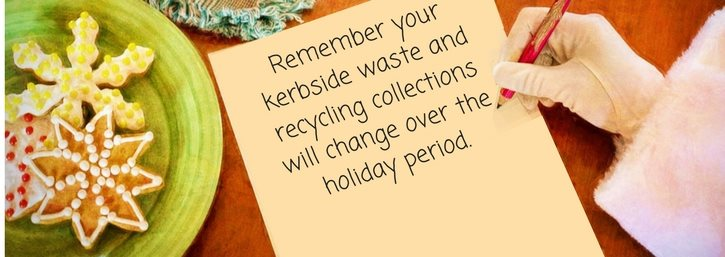 Festive collections and recycling information