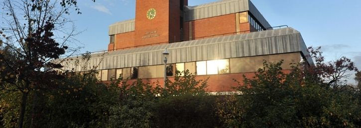A picture of the Civic Offices in Borehamwood.